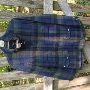 Joules tweed field coat.